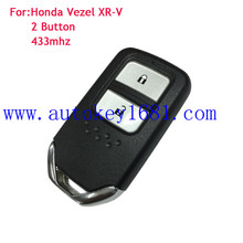 newest OEM 2 button smart card 433mhz remote key 47chip for honda zevel XR-V