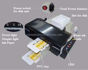 New Arrival Manufacturer Direct Supply L800 PVC ID Card Printer