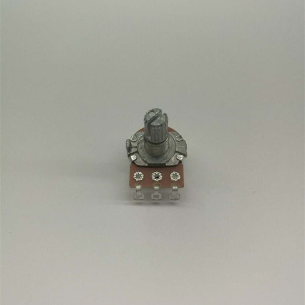 wholesale 220ohm ten turn rotary linear switch potentiometer stereo volume control 3 gang potentiometer with 3 pins