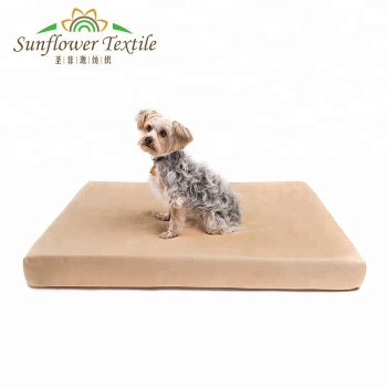 Hot Selling Luxury Waterproof Large Pet Dog Bed Memory Foam Cushion
