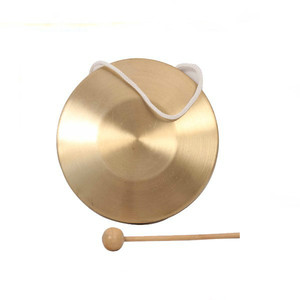 Music instrument copper gong, National music cymbal metal gong