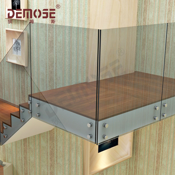 Frameless Gl Stair Handrail Wall Mounted Handrails For Stairs Product On
