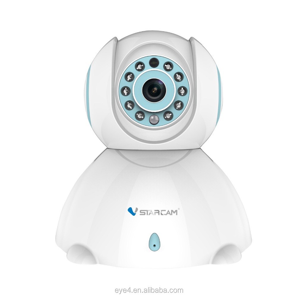 H.264 CMOS Wireless Indoor HD P2P P/T video security wifi network camera new gadgets 2014