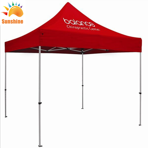 Wholesale Outdoor Pop Up Canopy Custom Logo Printed <strong>Trade</strong> Show Folding Tent for Advertising