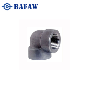 Strict quality testing forged high pressure asme b16.9 carbon steel reducing elbow