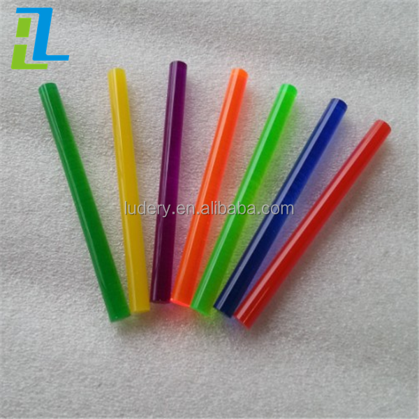Straight cast color Acrylic Rod