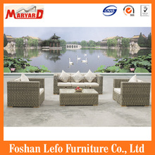 New Products Outdoor Furniture 4PC Wicker Conversation Sofa Set
