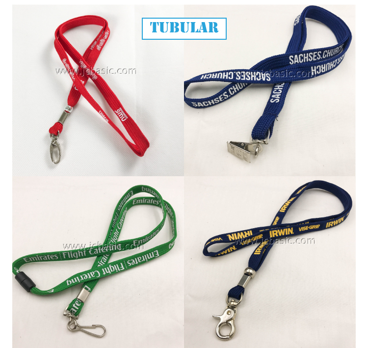 custom logo fashion polyester children's luminated lanyard