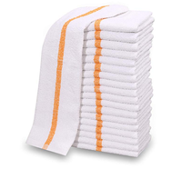 Kitchen Bar Mop Cleaning Towels Pure Cotton White Kitchen Towels