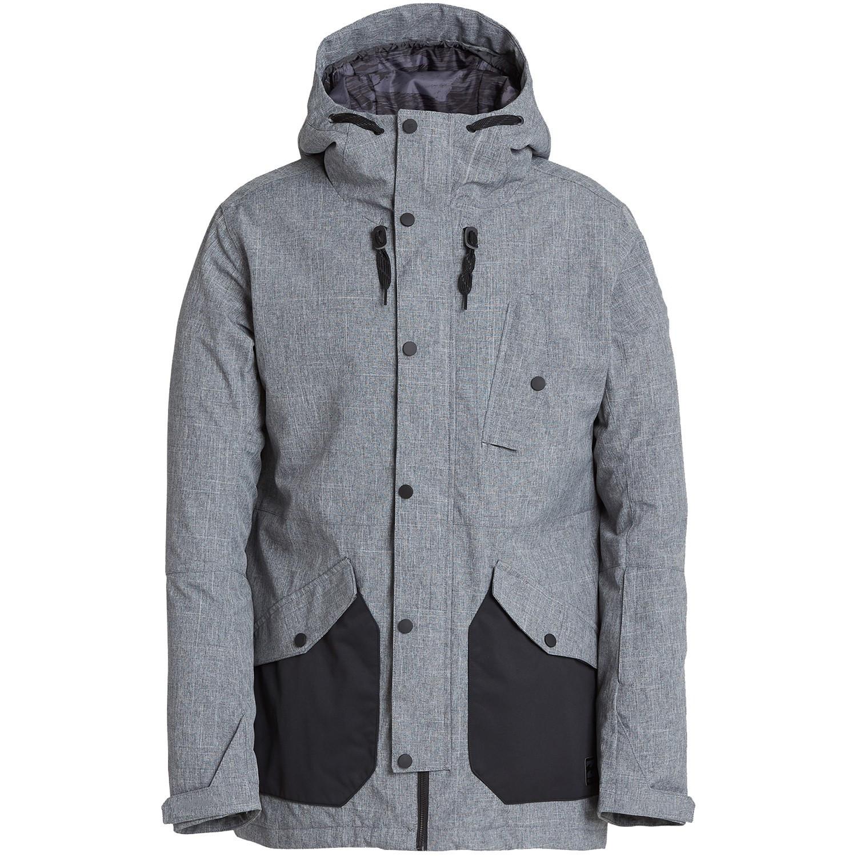d85f7761cf Mens 100% Polyester Waterproof Contrast Color Ski Jacket Outwear ...