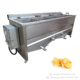 Semi Automatic Small Scale Frozen Sweet French Fries Making Production Line Lays Fresh Mini Potato Chips Machine Price