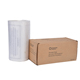 Strong white HDPE plastic garbage bag biodegradable waste bin liner for kitchen cleanning