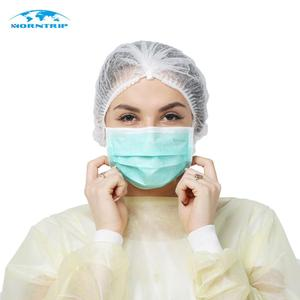 Haze Protection Odorless Protective 3 Ply Filtering Non Woven Medical Face Mask