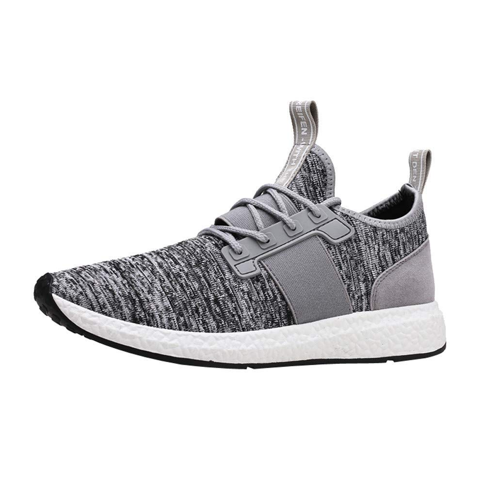 Sneakers for Men,Clearance Sale! Caopixx Men's Walking Athletic Shoes Comfort Casual Sneaker Trail Running Shoe for Mens