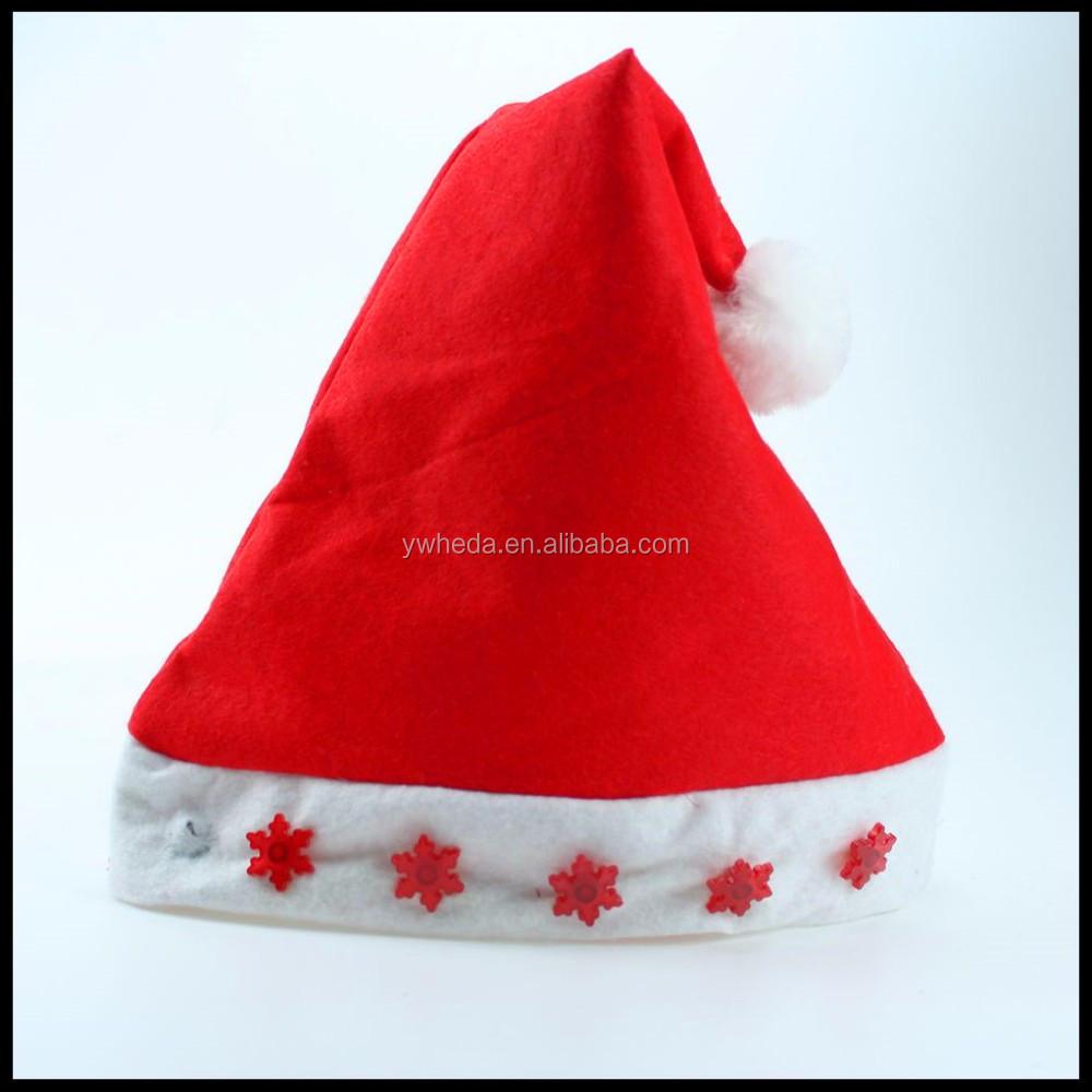 Mini Inflatable Christmas Hats Decoration