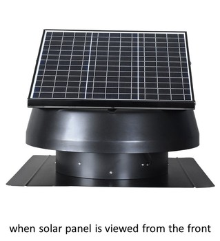 solaire toit extracteur d 39 air industriel sans lectricit. Black Bedroom Furniture Sets. Home Design Ideas