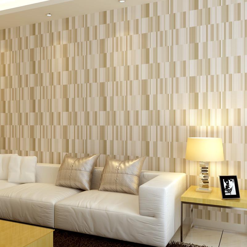 vertikale streifen nicht vliestapete kurze moderne champagner farbe bett wand wohnzimmer tapete. Black Bedroom Furniture Sets. Home Design Ideas