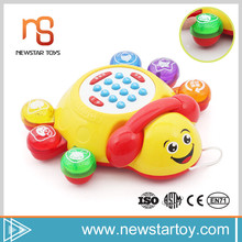 2016 safety material smart animals plastic toy mobile phone for kids