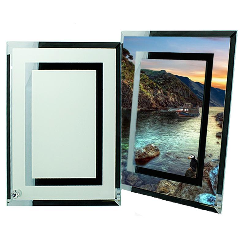 стеклянные с двух сторон фоторамки подобный
