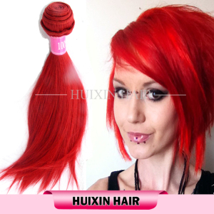 Bright color hair, top 6 virgin burmese red body wave hair bundles