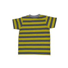 High Quality Baby Boy Kids Soft Cotton T-Shirts Yellow Stripe Baby T-Shirts
