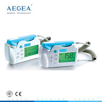 AG-BZ013 Mini portable easy carry home used available heartbeat baby monitor fetal doppler price