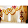 Indian Wedding Stage Decoration White Wedding Backdrop Curtains
