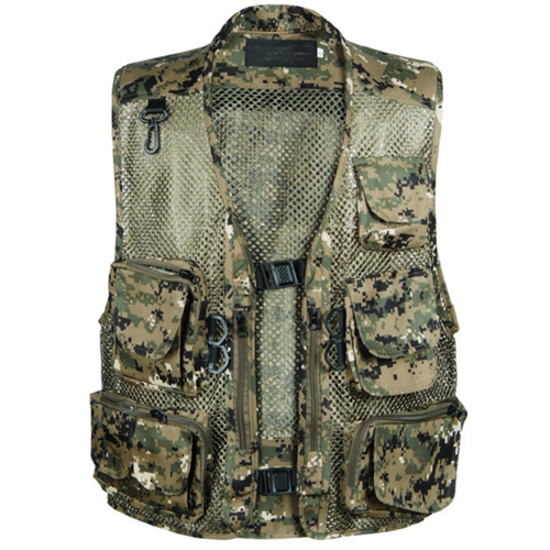 Custom Warm Camouflage Hunting Vest High Quality Outdoor Shooting Vest