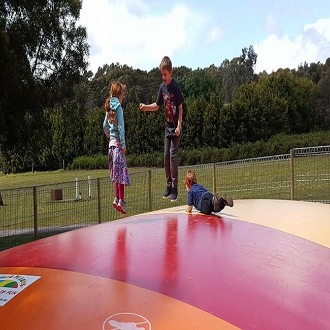 Hot sale Outdoor Kangaroo Jumper Inflatable Jump Pillow