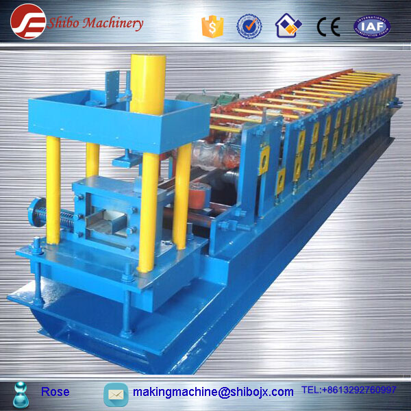 Prices Die Cutting Galvanic C-Section Purling Rolling Forming Line c shape frame machine
