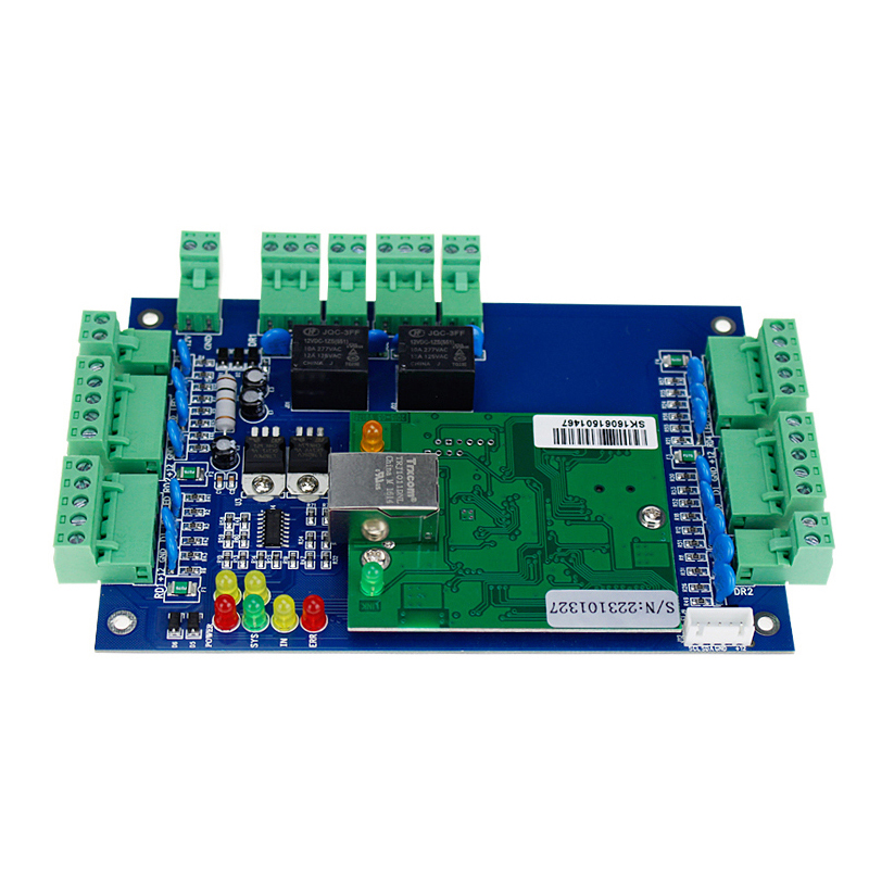 Supply Tcp/ip Network Entry Attendance Access Control Board Panel For 4 Door 4 Reader Access Control Kits Access Control