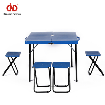 Stupendous All Weather Resistant Outdoor Furniture Plastic Camping Dining Table And Portable Picnic Table With Umbrella Buy Dining Table And Chair Portable Download Free Architecture Designs Oxytwazosbritishbridgeorg
