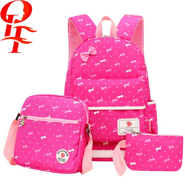 China CN. Sponsored Listing. CONTACT SUPPLIER · embroidery nylon school bag  with handbag for girl 74f158caa2