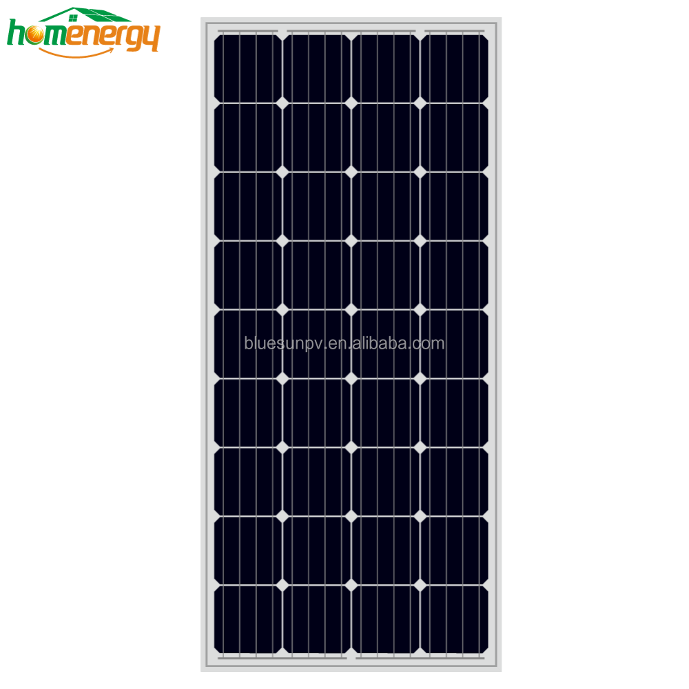Super quality low price certificated mono 60w transparent thin film solar panel