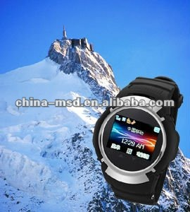 2012 first accurate real-time GPS tracker watch phone