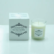 Shenzhen lihome air freshener luxury custom scented candle for Australia market,coconut&lime scent