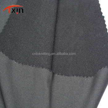 manufacture polyester tricot brushed fabric for bag,An-static warp knitted fabric for felt