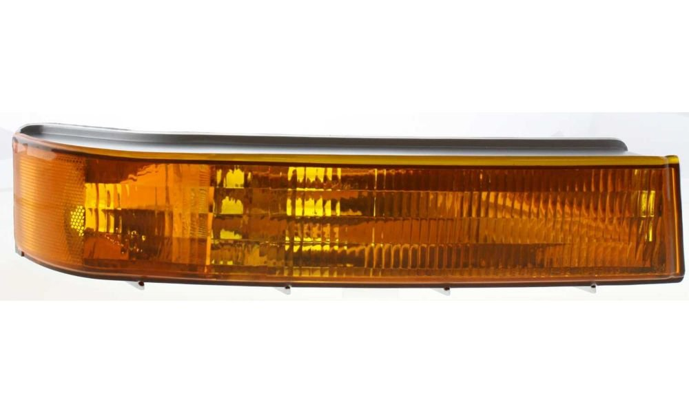 Evan-Fischer EVA23172012834 New Direct Fit Turn Signal Light for F-SERIES 92-97 Passenger Side RH Lens and Housing Below Headlamp Replaces Partslink# FO2521114