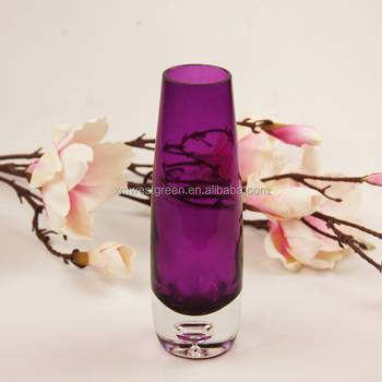 Gv 045 Purple Cylinder Glass Vase Cylinder And Wholesale Tall Egg