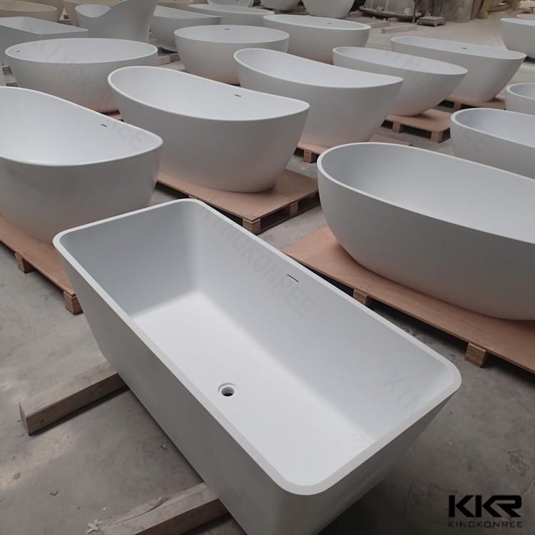Kkr hot sale cheap freestanding bathtub 1 person hot tub for Best bathtub material