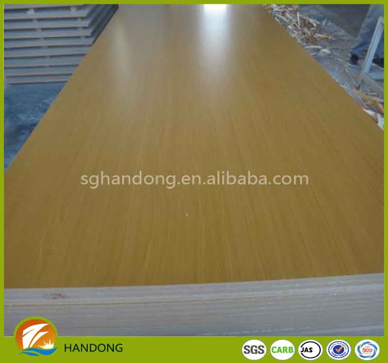 best quality of low price with best wood melanine MDF for funiture and cabinet