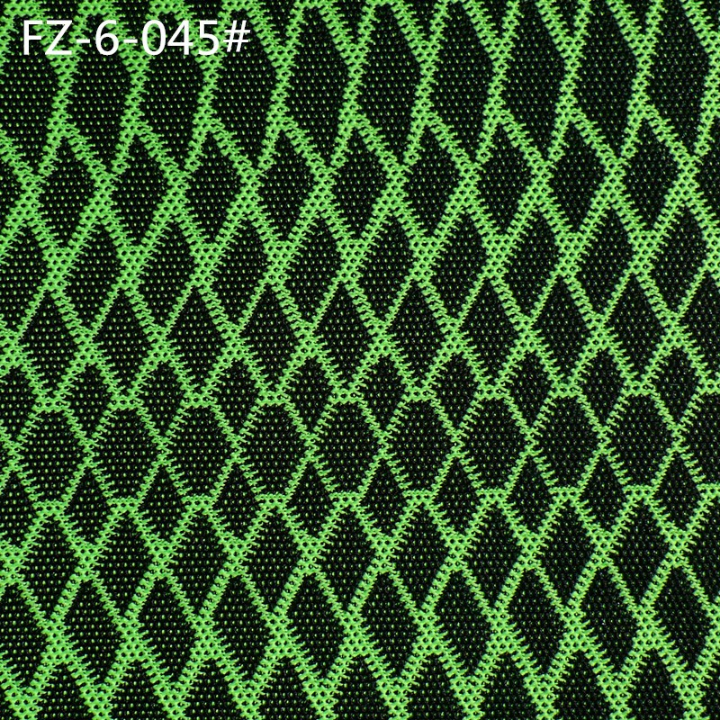 Customized 100% polyester double knit fabric for sport shoes
