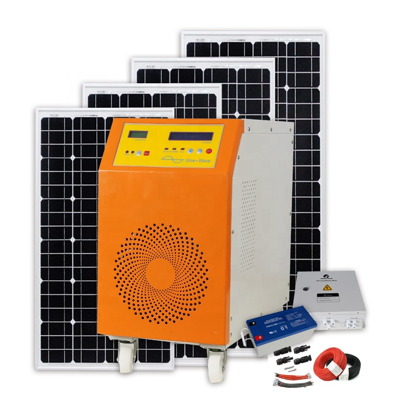10Years Warranty 3KW 5KW Off-Grid Solar Power System Package