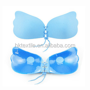 e79f5857ac Bandage Self Adhesive Invisible Strapless Push Up Bra Top Stick Gel  Silicone Bralette Sexy Deep V