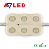 USA hot selling 6pcs high brightness 2835 injection smd led chip module with lens for outdoor led sign