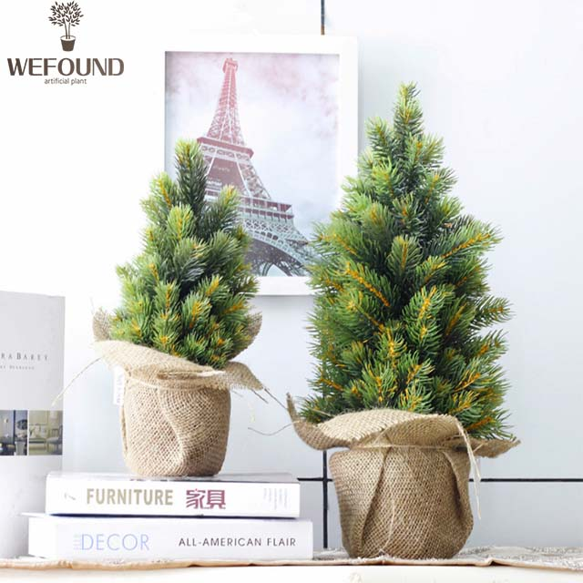 Wf Ct101 High Quality Mini Table Christmas Tree Decorated