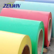 Prepainted color coated aluminium corrugated sheet