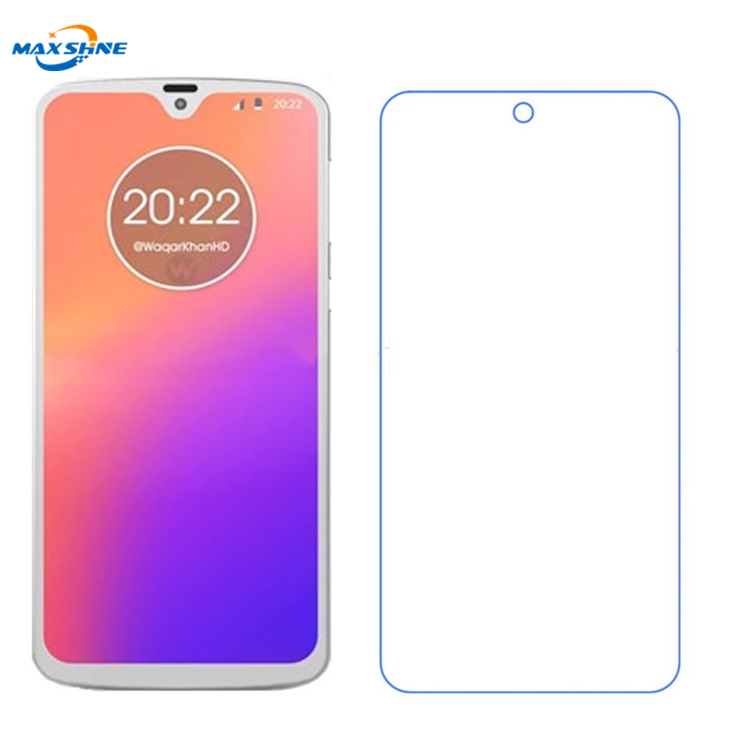 Maxshine Hot Sale Mobile Phone 9H Tempered Glass Screen Protector For Motorola G7