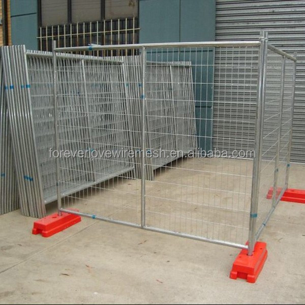 Outdoor used Hot sell high quality best price Canada standard iron temporary fence garden fence house fence designs