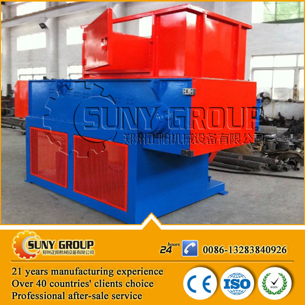 paper shredder machine/wood pallet shredder/tire recycling shredder